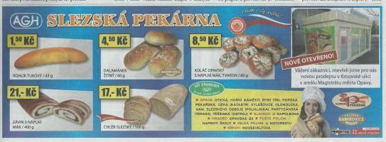 Nová pekárna v Opavě
