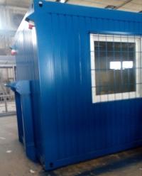 Kombinovaný kontejner na abroll rámu