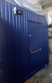 Sanitární kontejner s ZTP, Lenzkirch