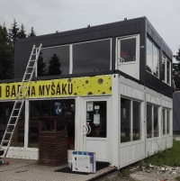 Zázemí lyžařského areálu, Malá Morávka - Karlov