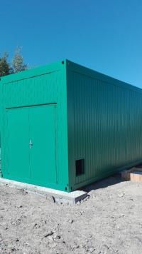 Technologický DUO-kontejner, Bruntál