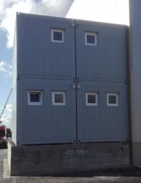 Kontejnerová sestava - kanceláře se sanitárním zázemím