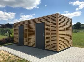 Kolárna - obložení dřevem realizoval odběratel
