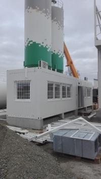 Technologický kontejner - velín