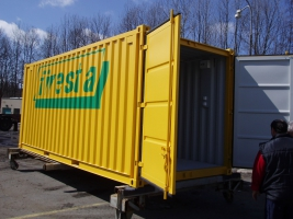 Základní skladové kontejnery