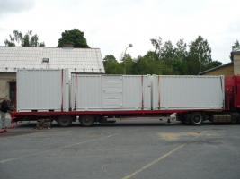Technologický kontejner - Ostrava