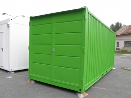 Skladový kontejner s elektrem - Meerbusch, Německo