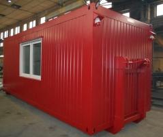 Kancelářský kontejner na abroll-rámu